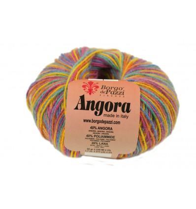 Итальянская пряжа для вязания Borgo de Pazzi Angora