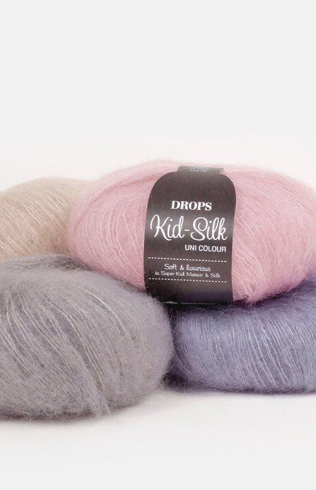 Пряжа для вязания Drops Kid Silk