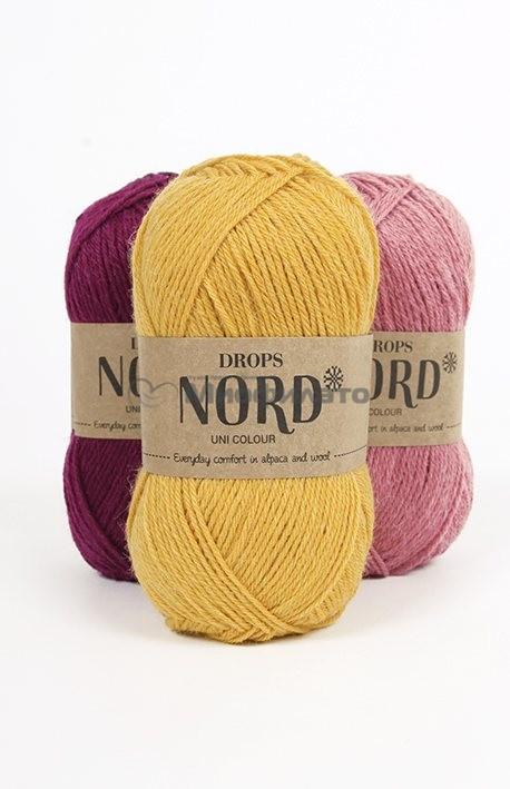 Пряжа для вязания Drops Nord