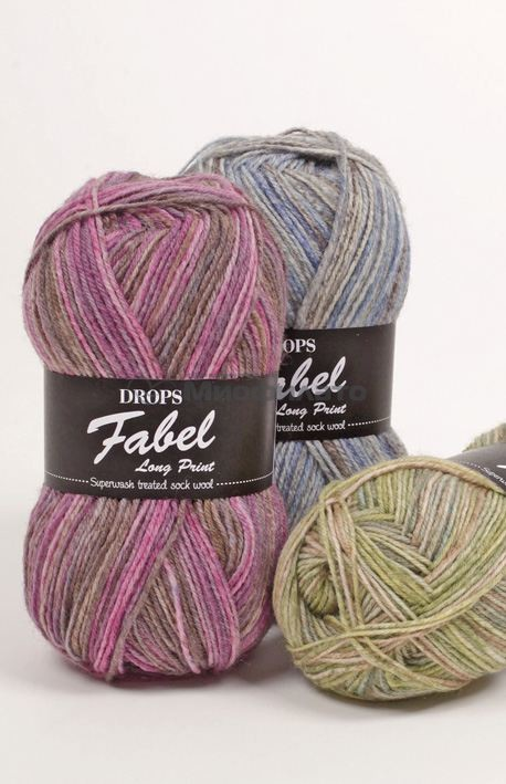 Пряжа для вязания Drops Fabel