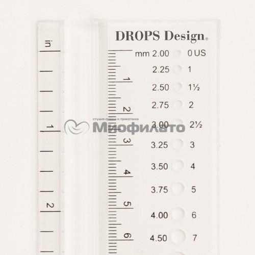 Измеритель для спиц Needle Measure Drops Plus