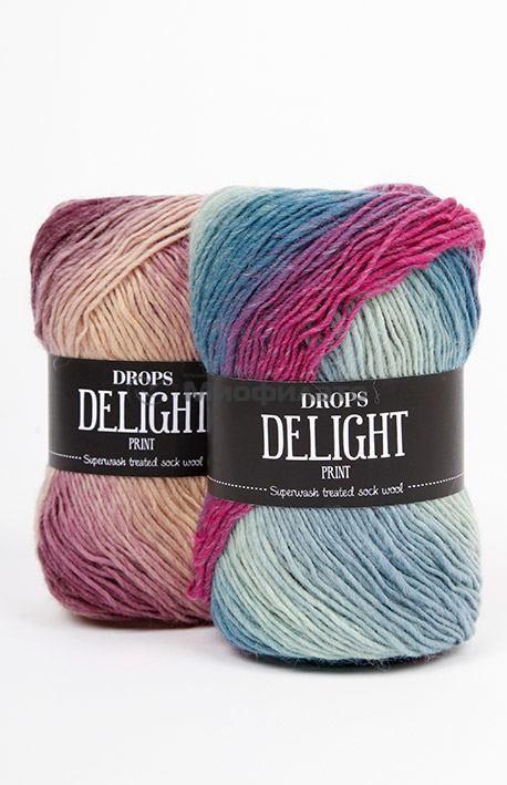Пряжа для вязания Drops Delight
