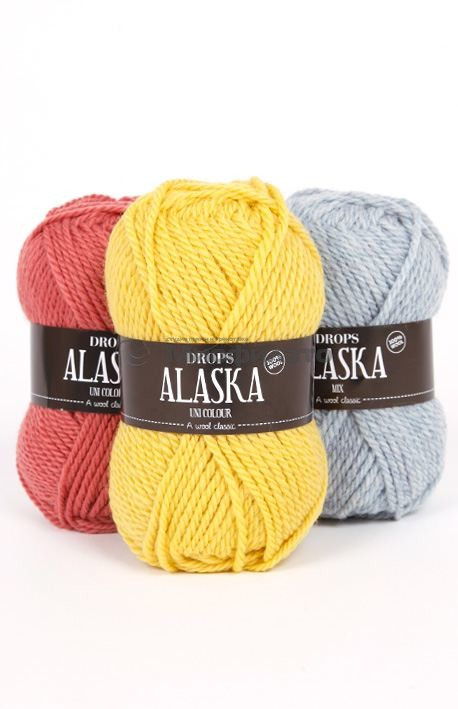 Пряжа для вязания Drops Alaska в Минске