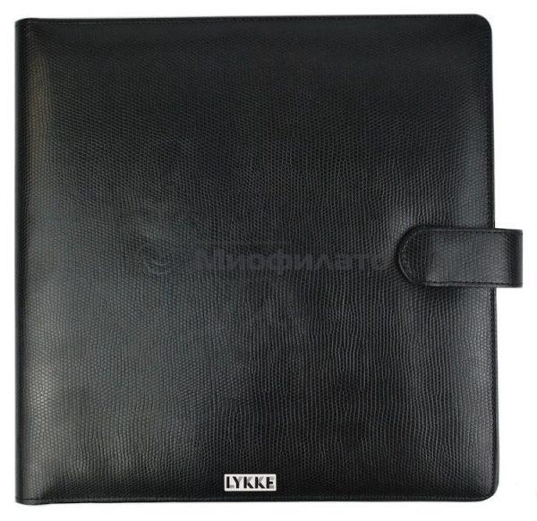 Набор прямых спиц LYKKE Black 25 см